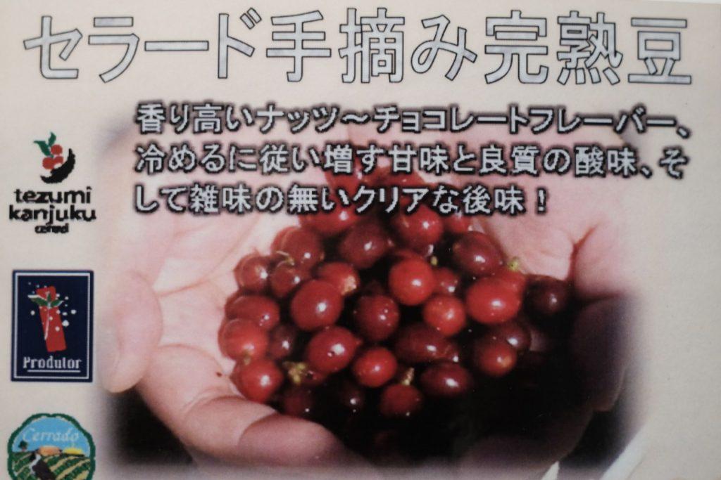 ブラジル 手摘み完熟豆 -3