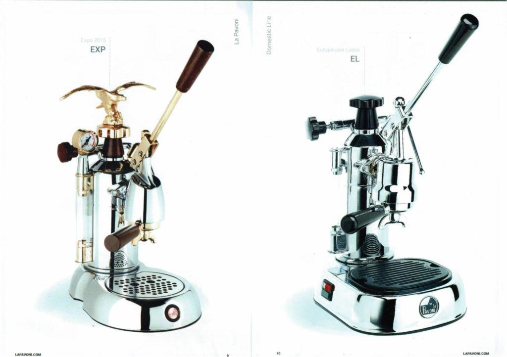 La Pavoni Espresso Lever Machine-1