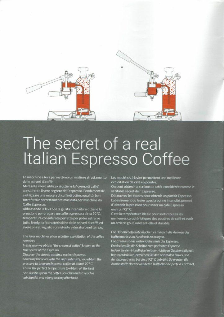 La Pavoni Espresso Lever Machine-5